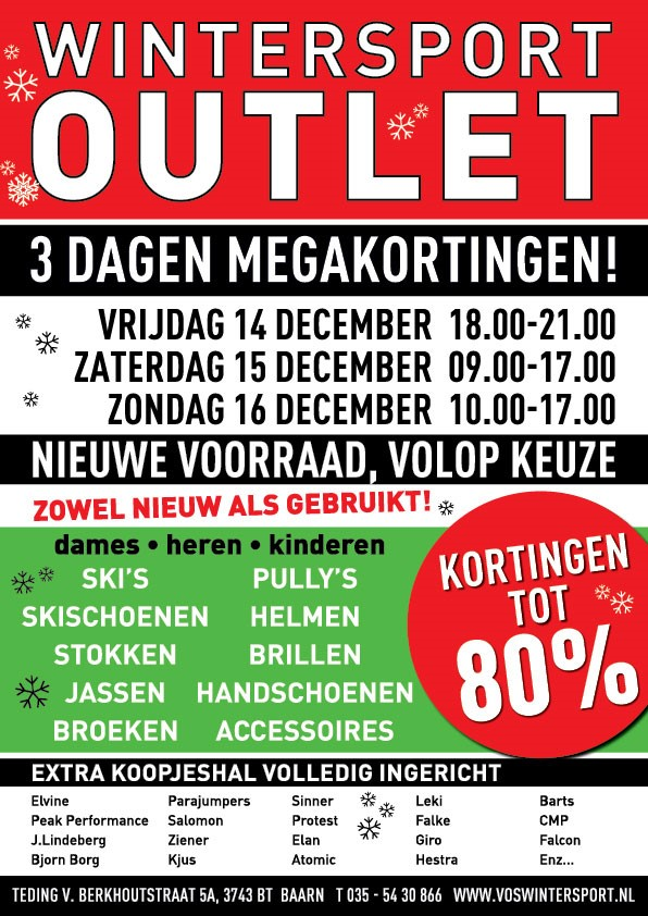 Vos Wintersport outlet | Wolfskamer Wintersport