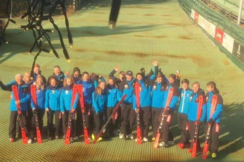 Ski leraren start seizoen